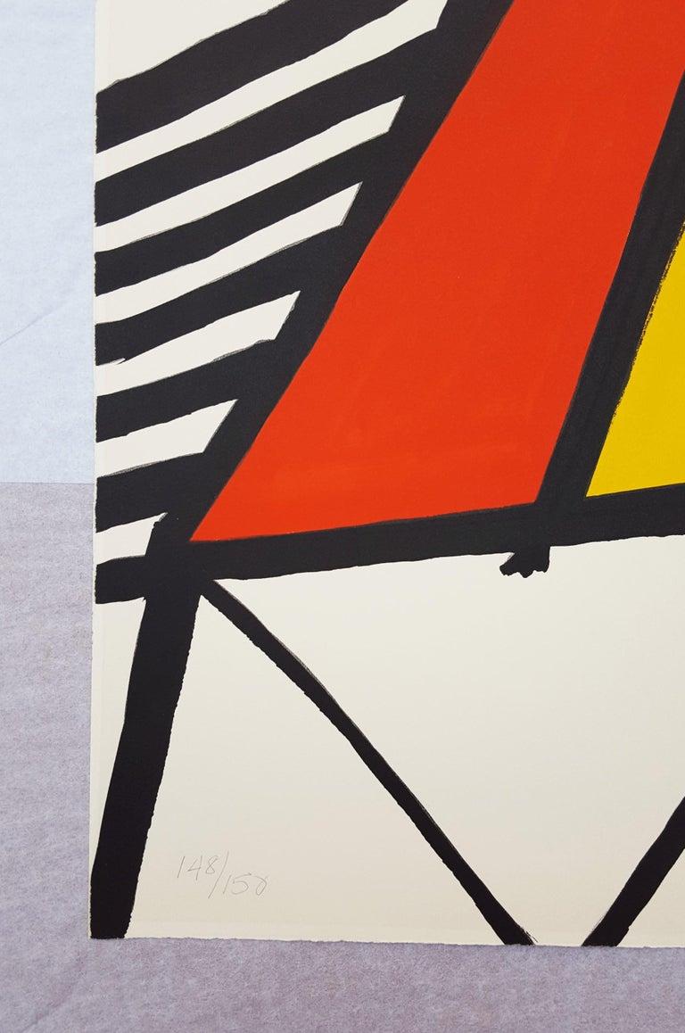Blue Sun - Modern Print by Alexander Calder
