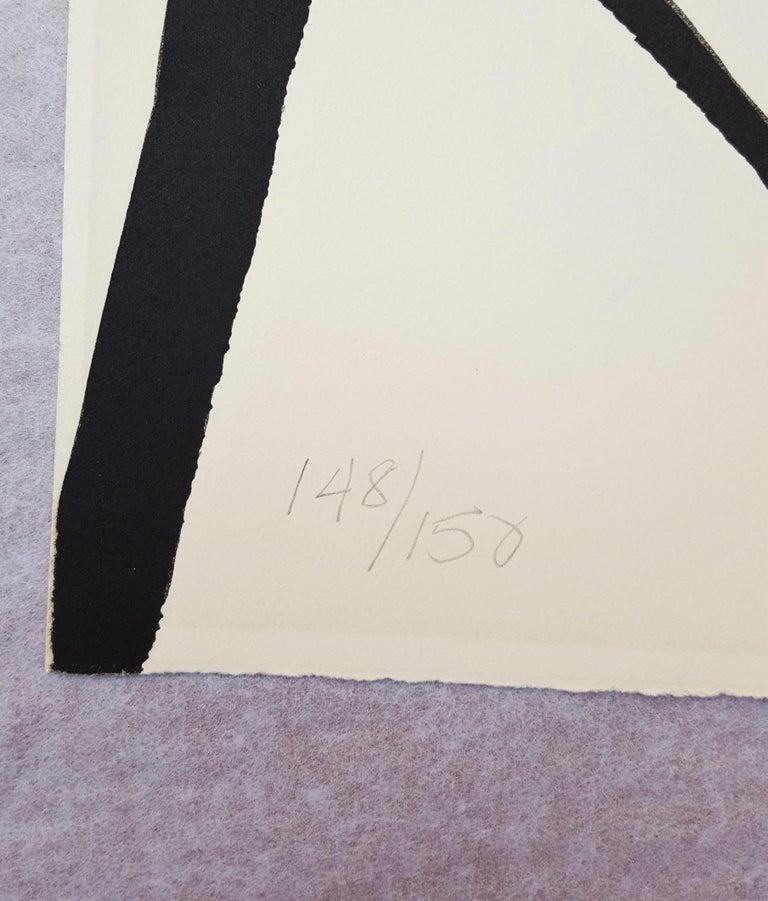 Blue Sun - Beige Abstract Print by Alexander Calder