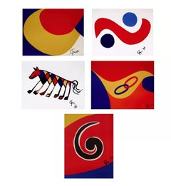 Braniff International Airways Flying Colors Collection (5 artworks)