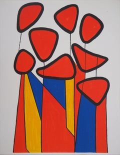 Composition in Red, Yellow and Blue - lithograph - Mourlot, 1972