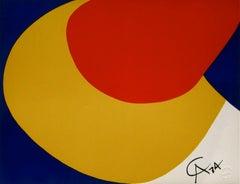Convection (Braniff Flying Colors), 1974 Ltd Ed Lithograph, Alexander Calder