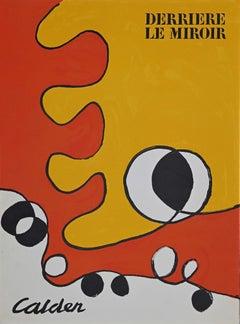 """Cover for """"Derriere Le Miroir"""" no 178 - Original Lithograph by A. Calder - 1968"""