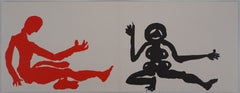 Dancing People - Lithograph - Maeght, 1975