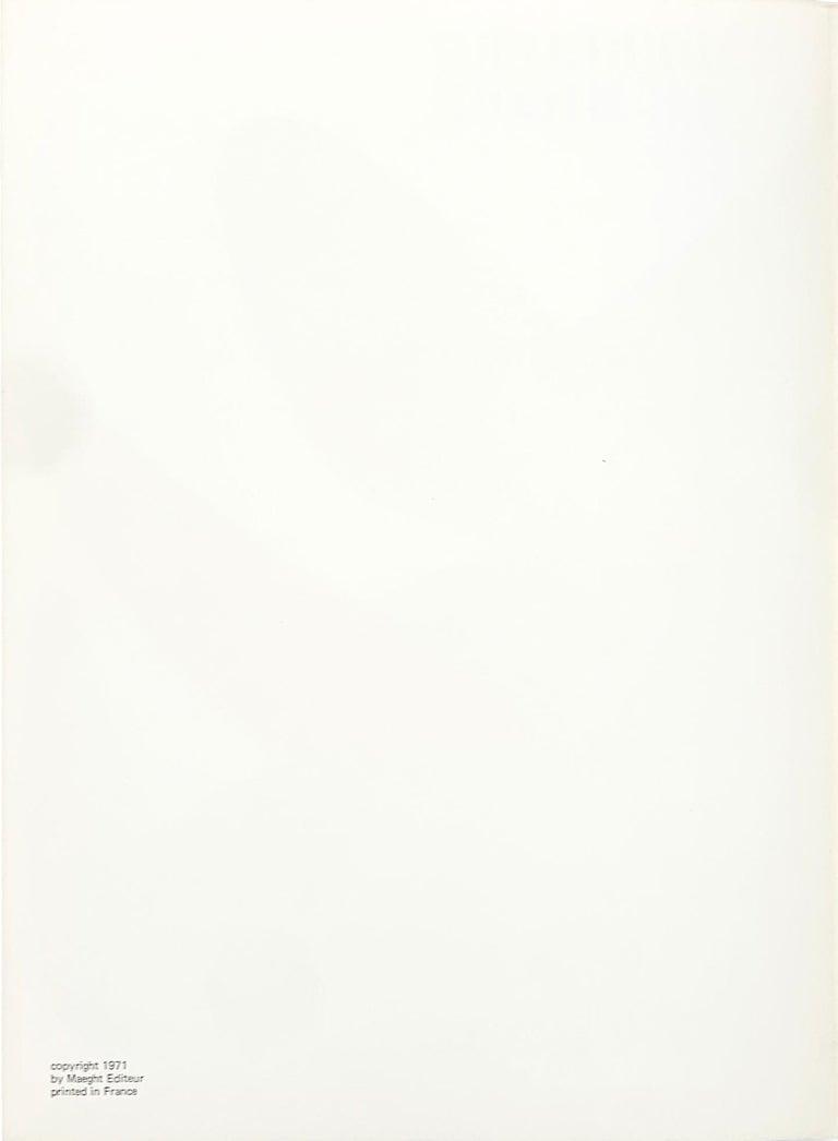 Derriere le Miroir #190, Front Cover - Print by Alexander Calder