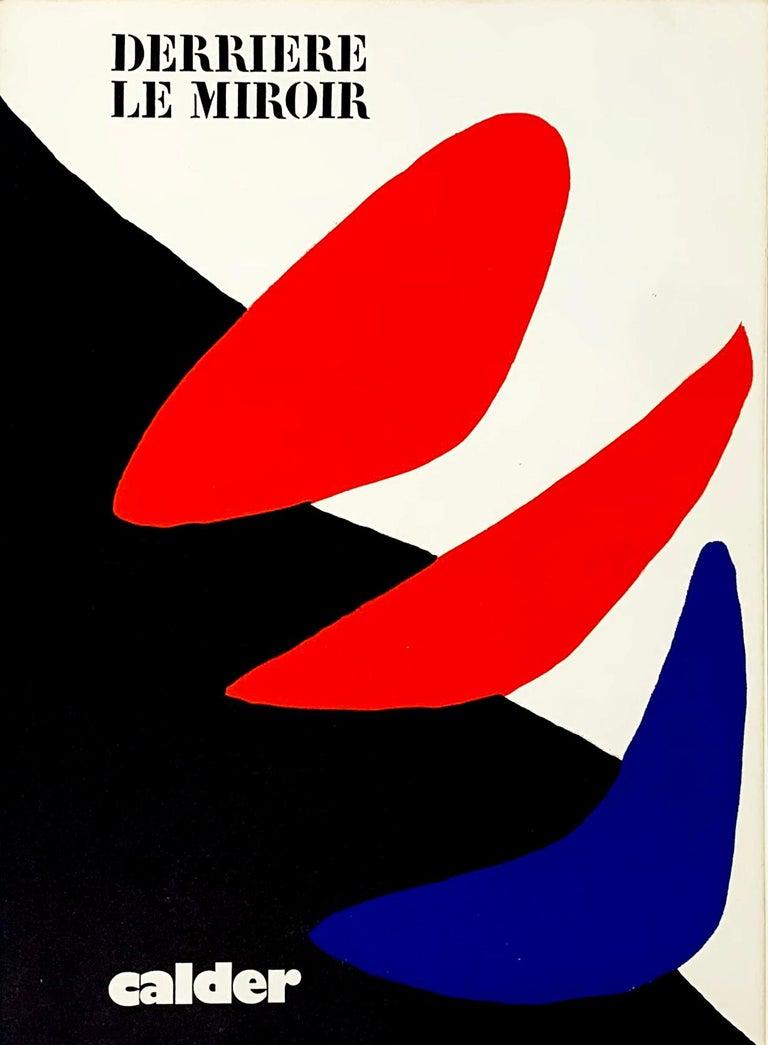 Alexander Calder Abstract Print - Derriere le Miroir #190, Front Cover