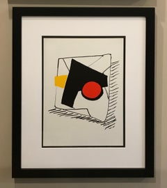 Untitled Lithograph from the Portfolio Derriere le Miroir 212