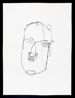 Derriere le Miroir #248, Portrait