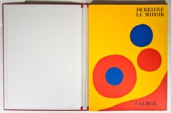 """Derriere Le Miroir,"" catalog with five original lithographs by Alexander Calder"