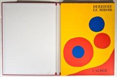 """""""Derriere Le Miroir,"""" Catalog with Five Original Lithographs by Alexander Calder"""