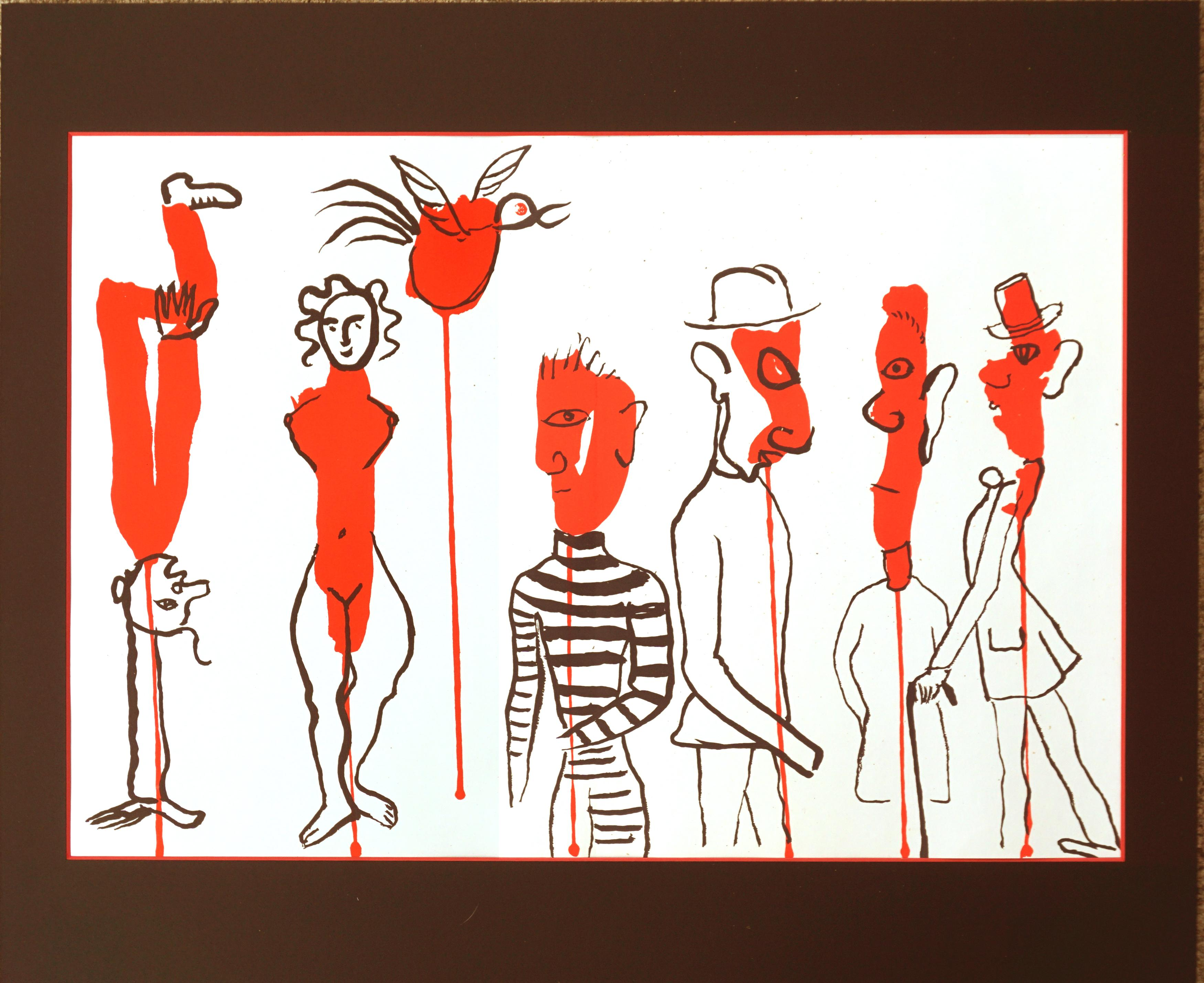 Derrière le Miroir Lithograph 1966
