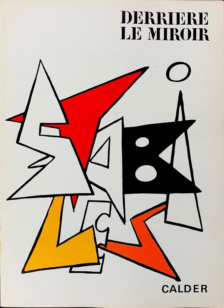 Derriere Le Miroir No. 141 Cover - Print by Alexander Calder