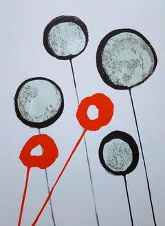 Derrière le Miroir No. 156 (Balloons)