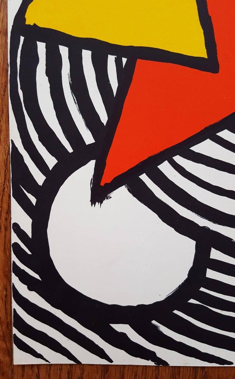 Derriere Le Miroir No. 201 (page 11) - Print by Alexander Calder