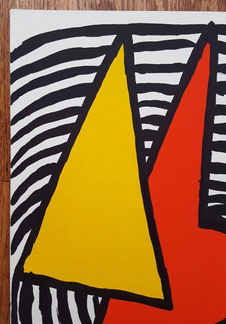 Derriere Le Miroir No. 201 (page 11) - Modern Print by Alexander Calder