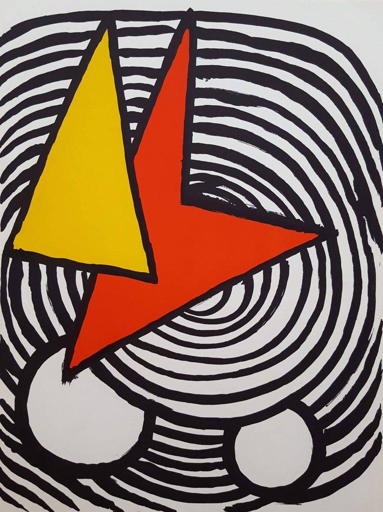 Alexander Calder Abstract Print - Derriere Le Miroir No. 201 (page 11)