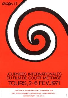 """Journees Internationales du film de court-metrage"" After Calder Original Poster"