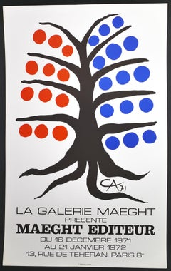 La Galerie Maeght présente Maeght - Vintage Poster - after A. Calder - 1971