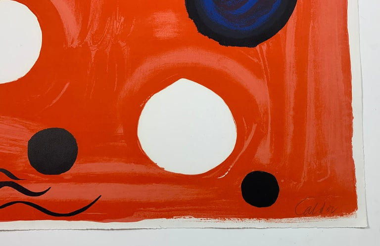 Landscape - Abstract Print by Alexander Calder