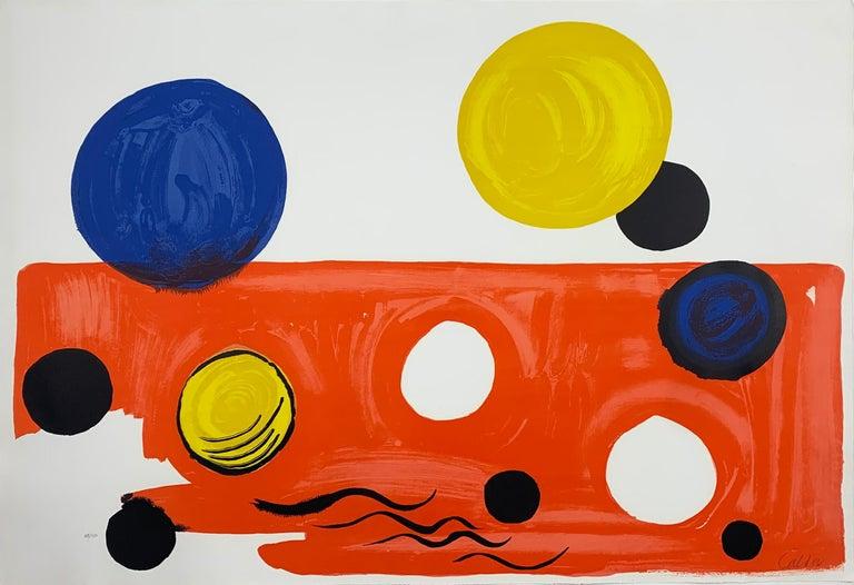 Alexander Calder Abstract Print - Landscape