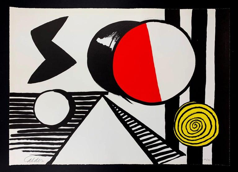 LE S ET LE O - Print by Alexander Calder