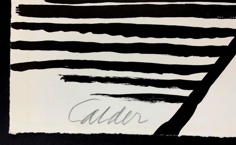 LE S ET LE O - Abstract Print by Alexander Calder