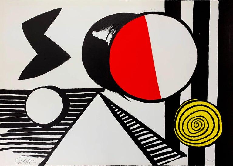 Alexander Calder Abstract Print - LE S ET LE O