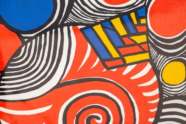 Les Travestis du Reel, Framed Lithograph by Alexander Calder For Sale 1