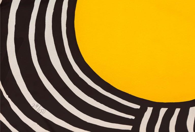 Les Travestis du Reel, Framed Lithograph by Alexander Calder For Sale 2