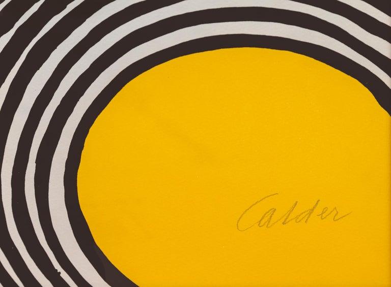 Les Travestis du Reel, Framed Lithograph by Alexander Calder For Sale 3