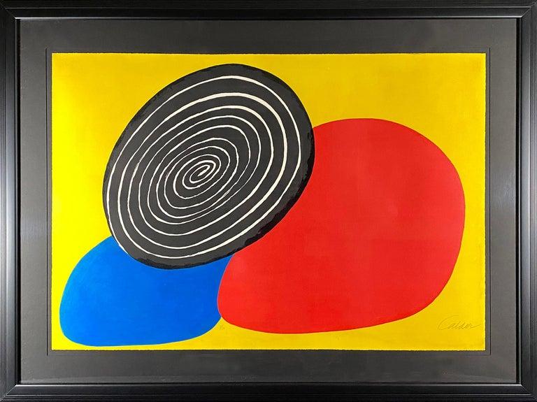 Les Trois Oeufs - Print by Alexander Calder