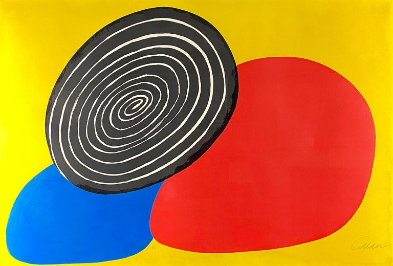 Alexander Calder Abstract Print - Les Trois Oeufs