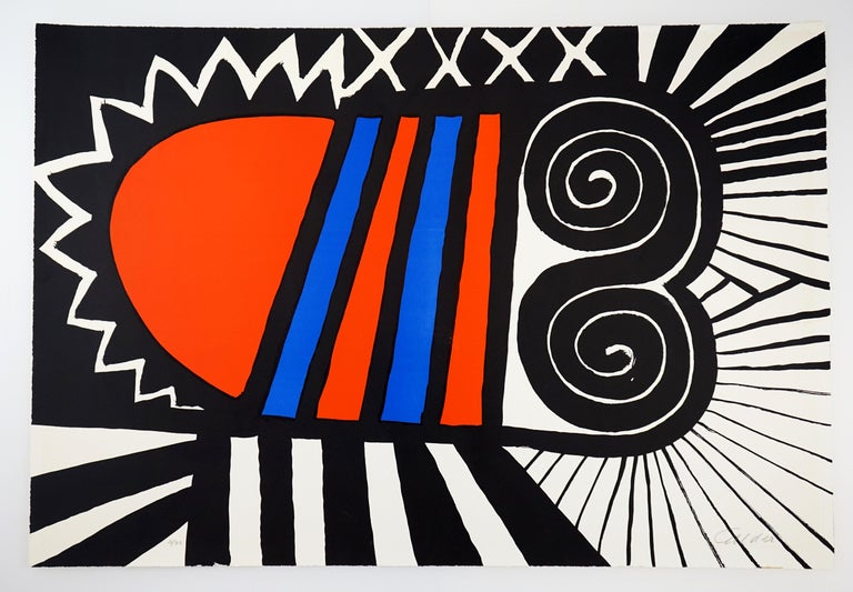 Papoose - Print by Alexander Calder