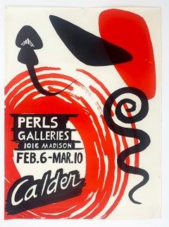 Perls Galleries Exhibition Poster