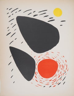 Rocks and Sun - Original lithograph - Mourlot, 1952