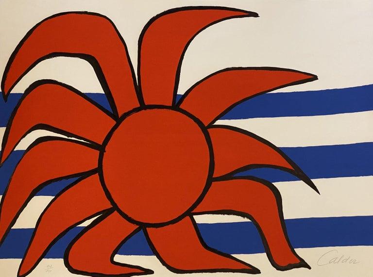 Alexander Calder Abstract Print - Sun and Sea