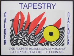 """Tapestry"" Framed Exhibition Poster"