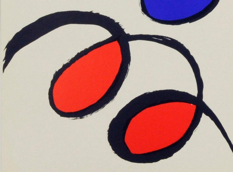 Untitled - Beige Abstract Print by Alexander Calder