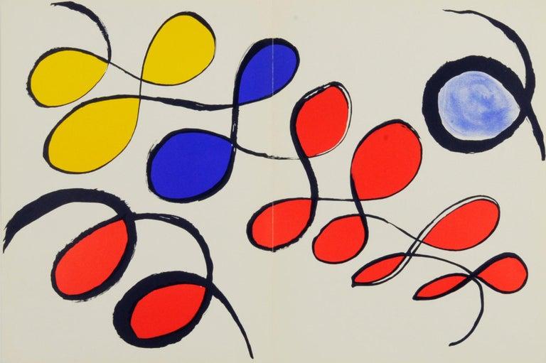 Alexander Calder Abstract Print - Untitled