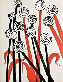 Untitled, from Magie Eolienne Portfolio, Ltd Ed Lithograph, Alexander Calder