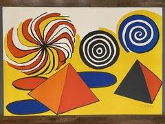 Untitled (Pinwheels and Pyramids)