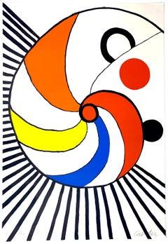 "Untitled, ""Spirale Multicolore,"" Alexander Calder"