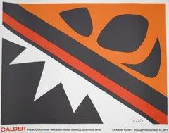 Vintage Exhibition Pace/Columbus Poster - 1971