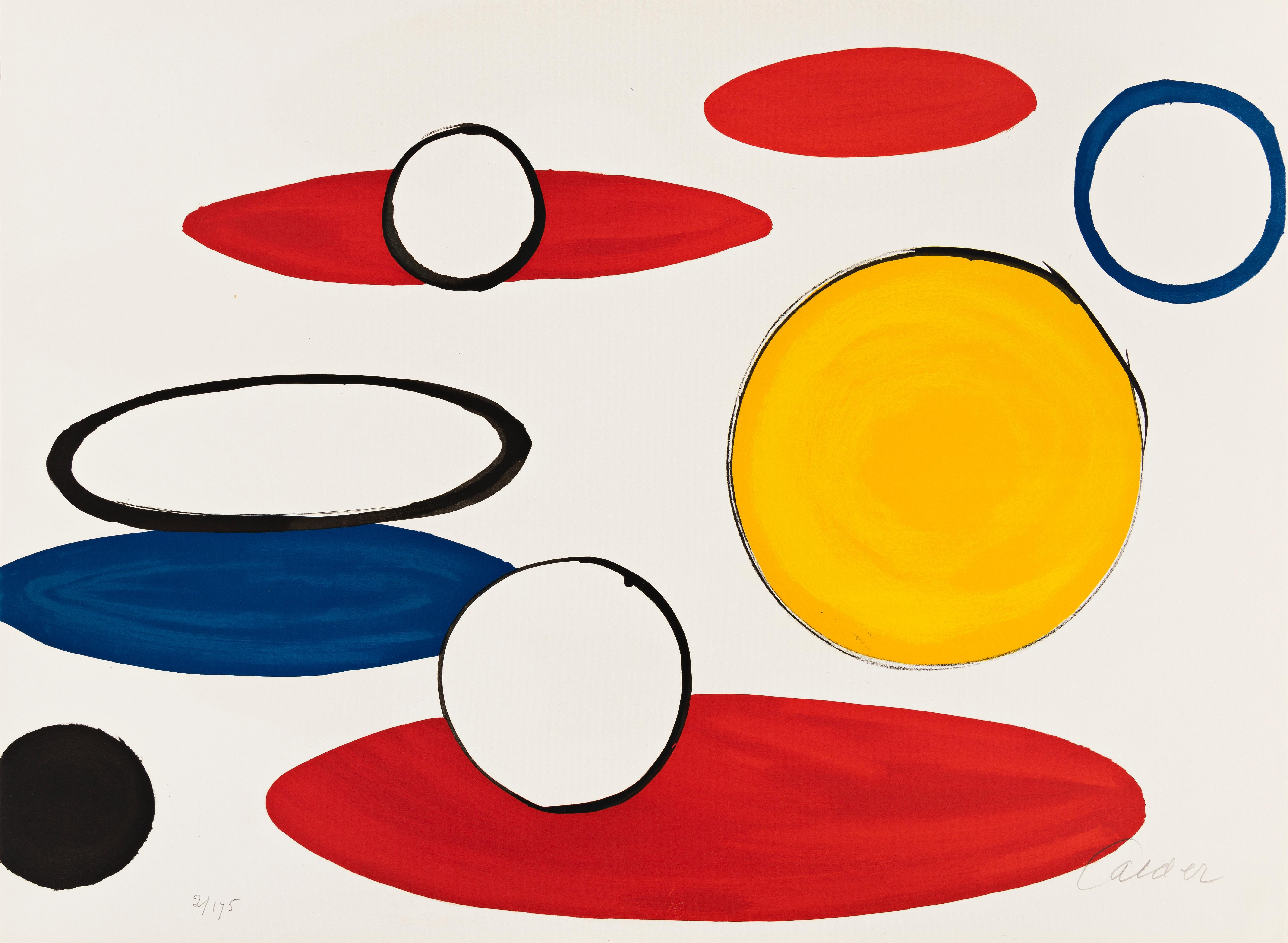 White Circles and Ellipses