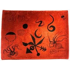 "Alexander Calder Tapestry/ Rug, ""Araignée"", 1953"