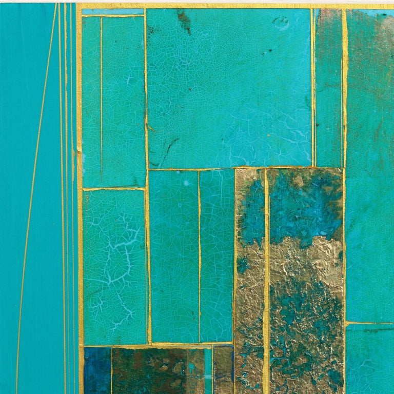 Glimpses No. 6 - Abstract Geometric Painting by Alexander Eulert