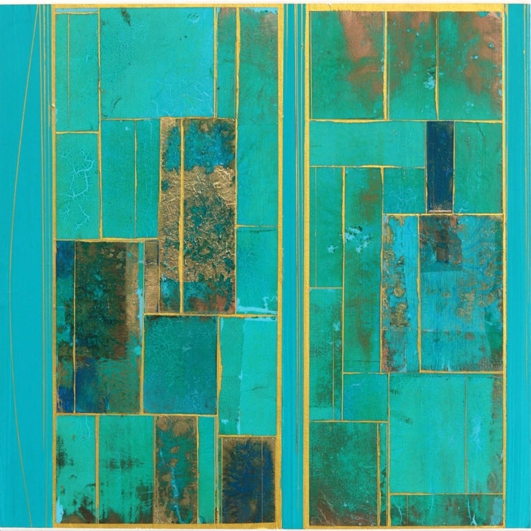 Alexander Eulert Abstract Painting - Glimpses No. 6
