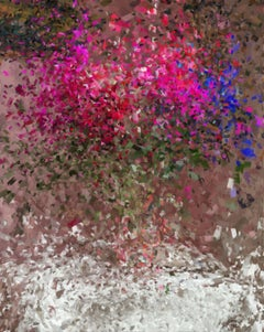 flavor, abstract still life, Digital on Canvas