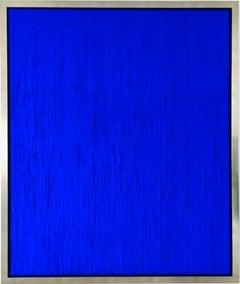 Blue Rain II Contemporary Mixed Media