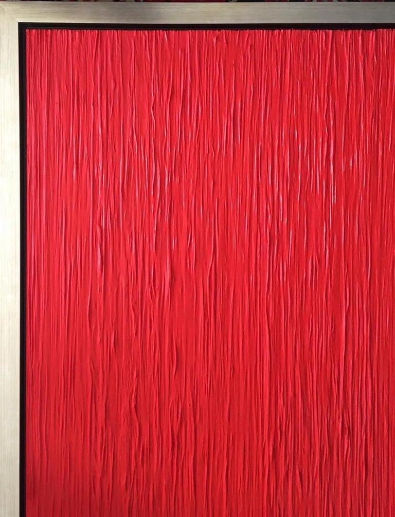 Red Rain Contemporary Mixed Media  - Abstract Mixed Media Art by Alexander Gore