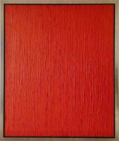 Red Rain Contemporary Mixed Media